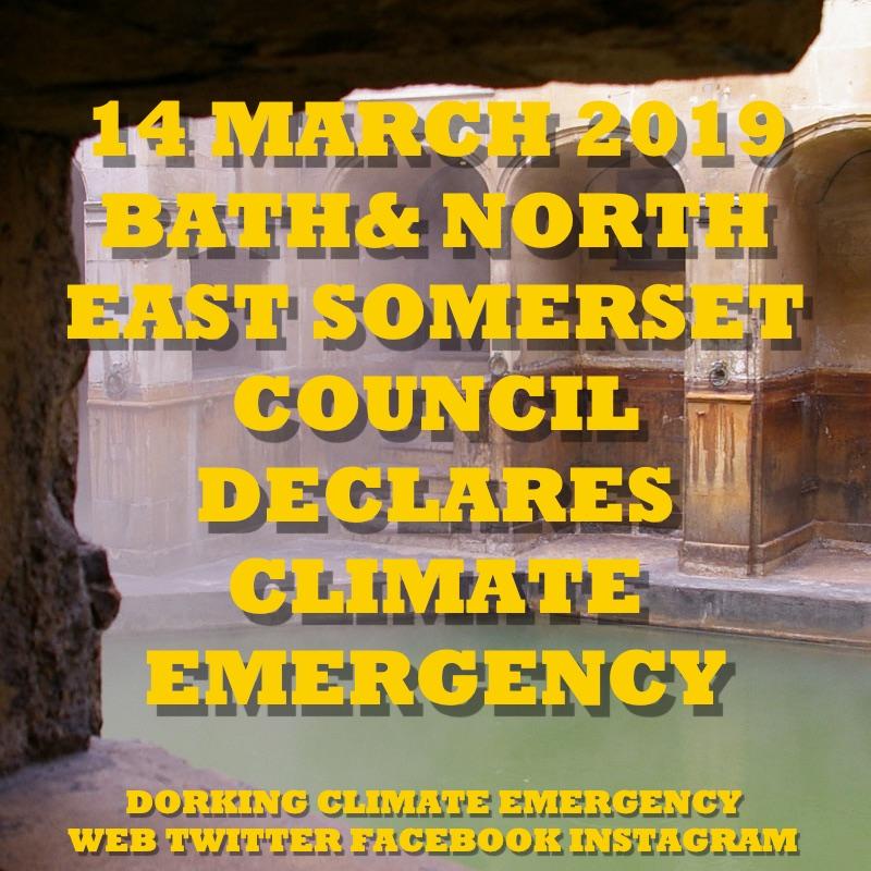 bath declare climate emergency