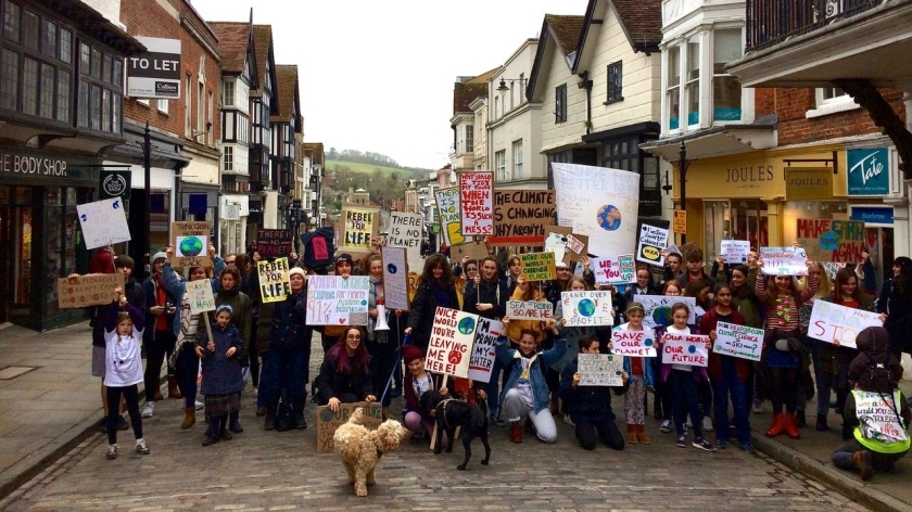 guildford climate strike