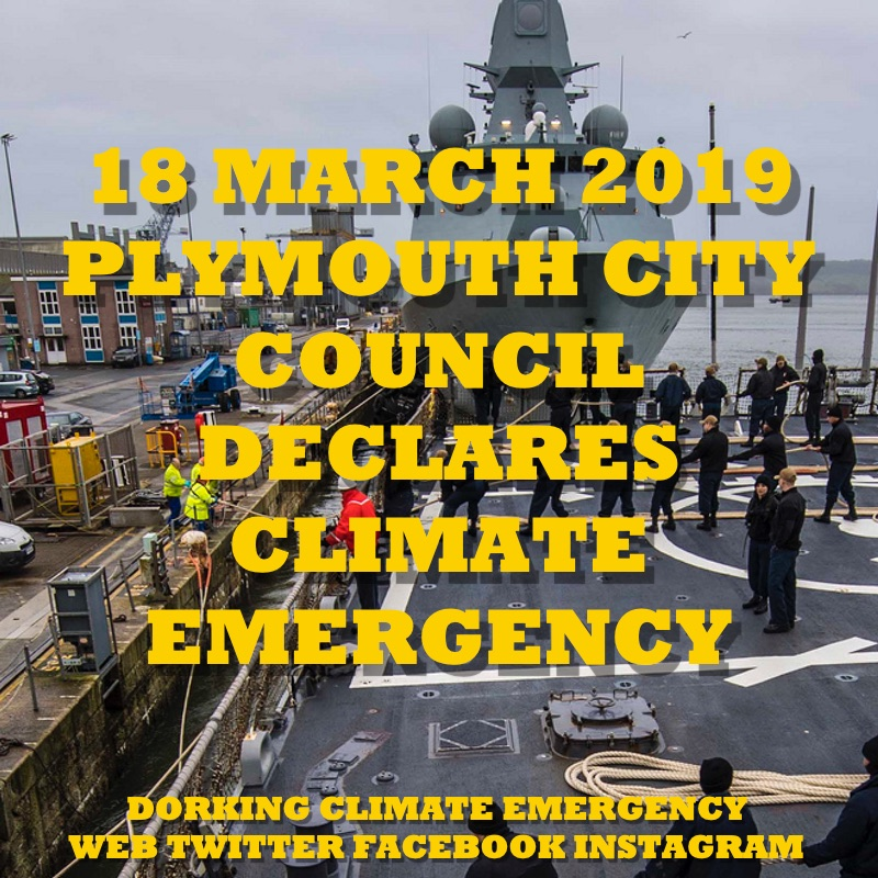 plymouth declares climate emergency