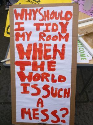 tidy my room