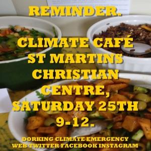 climate café 25:5:19
