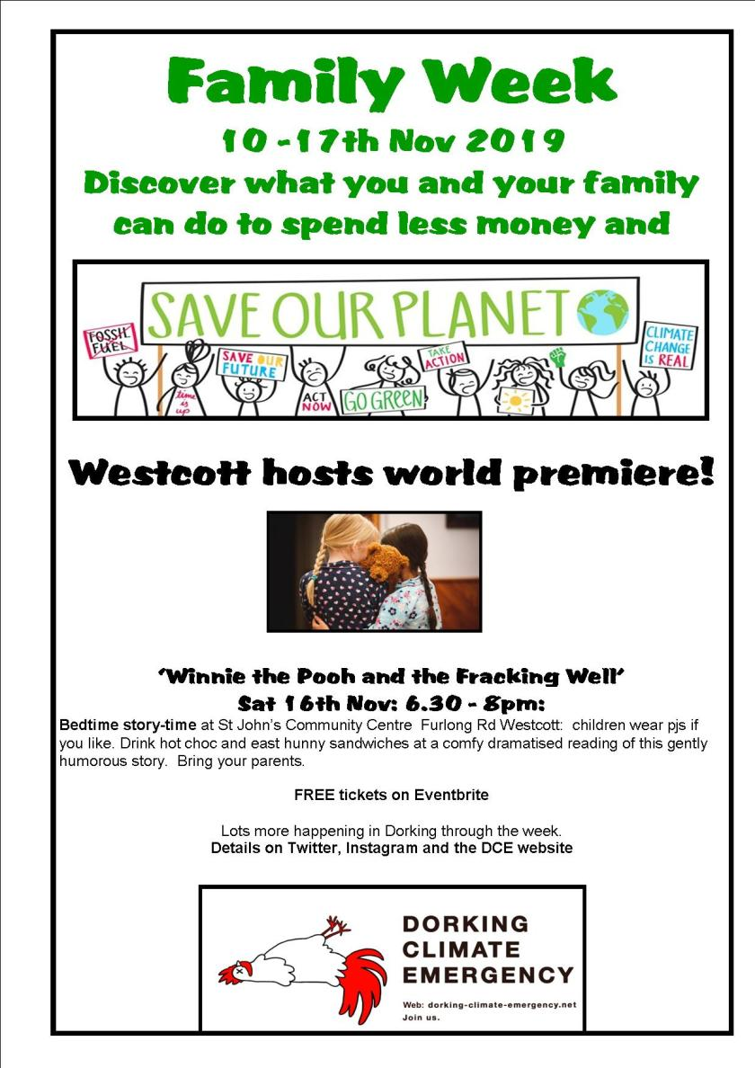 16 Nov Family Week winnie the pooh poster
