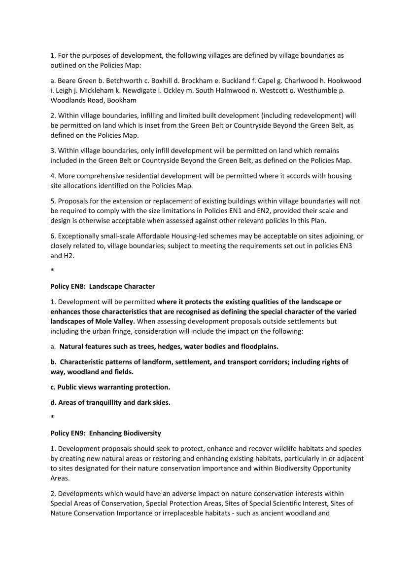 Edited Future Mole Valley – Consultation on Draft Local Plan-12