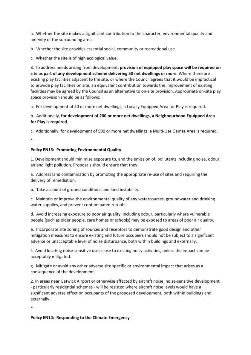 Edited Future Mole Valley – Consultation on Draft Local Plan-14