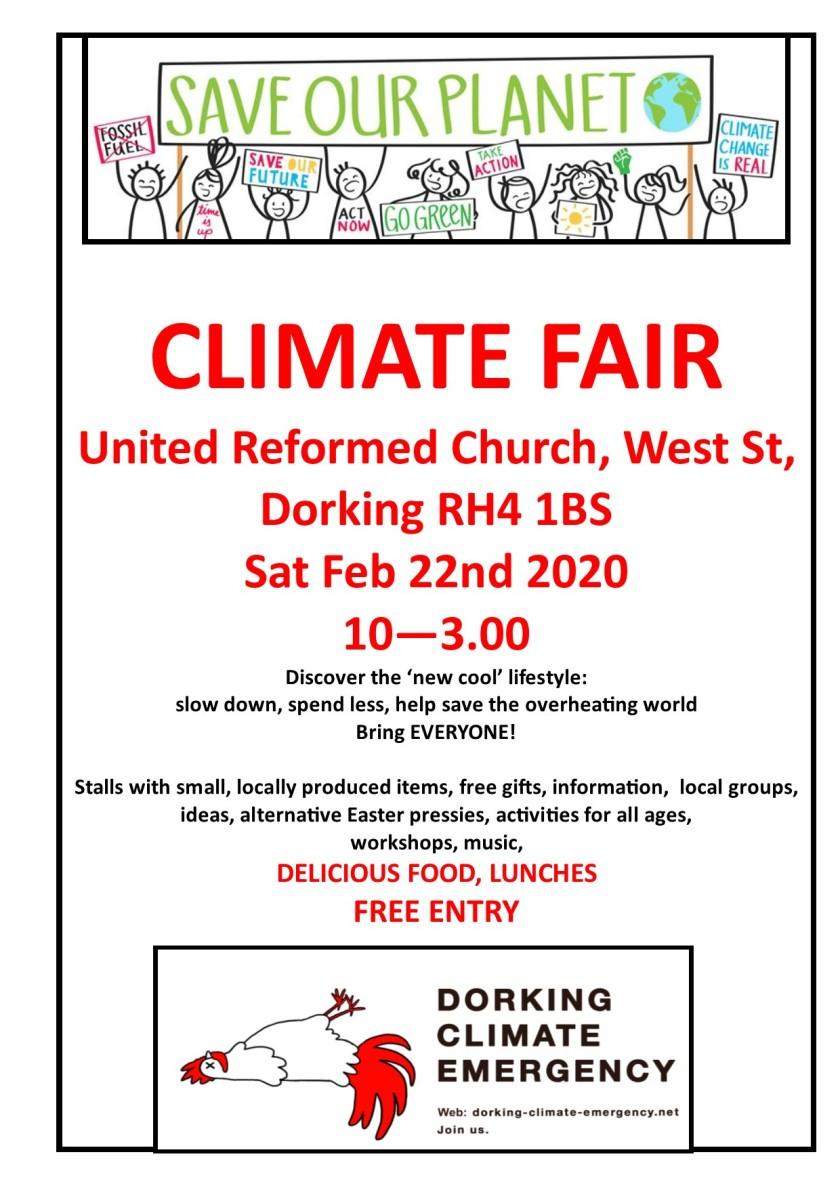 Climate fair poster v1