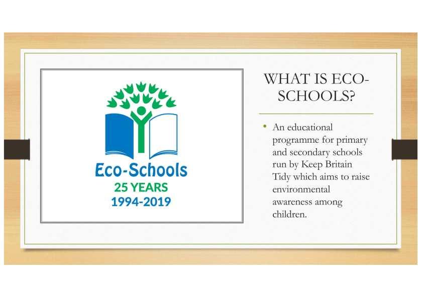 Eco schools Feb 2020-2